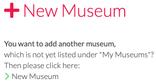 Add new museum